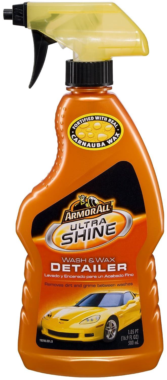 Amazon com armor all 78462 ultra shine wash and wax detailer 16 9 fl oz automotive