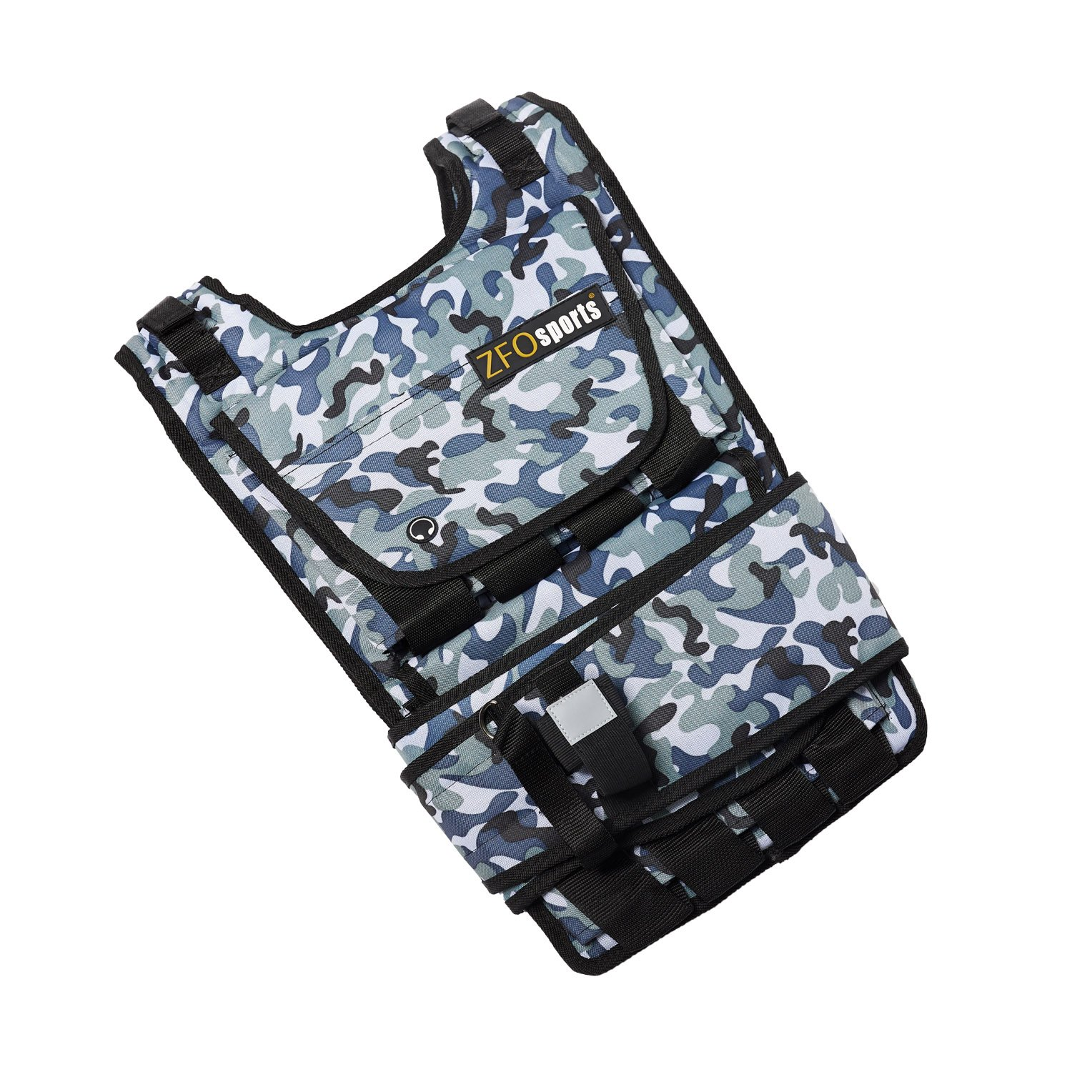 ZFOsports Weighted Vest 40lbs/60lbs/80lbs (Arctic 40LBS)