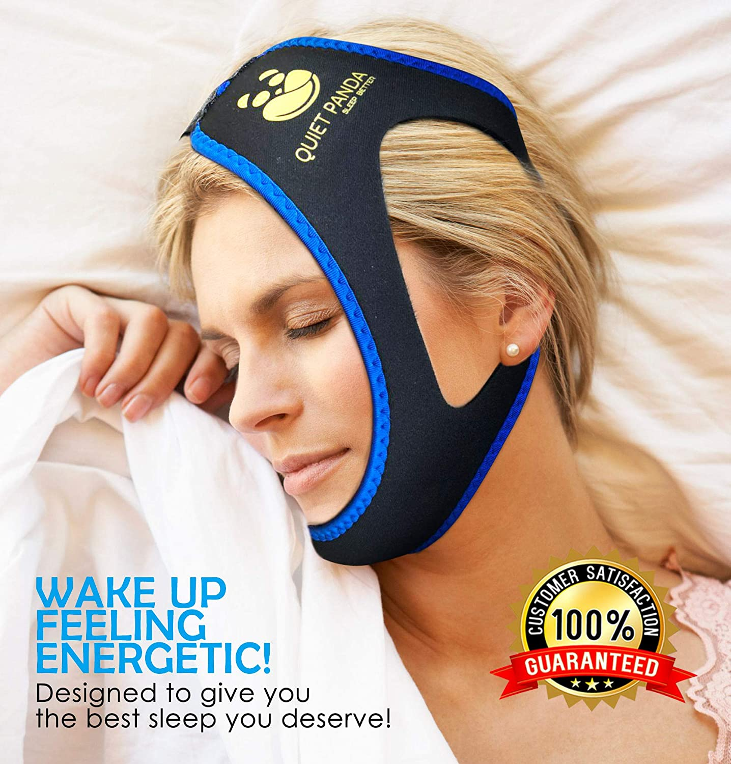Anti Snoring Chin Strap - Most Effective Snoring Solution and Anti Snoring Devices