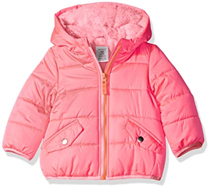 bac99ad54 Amazon.com  Carter s Baby Girls  Infant Classic Heavyweight Puffer ...