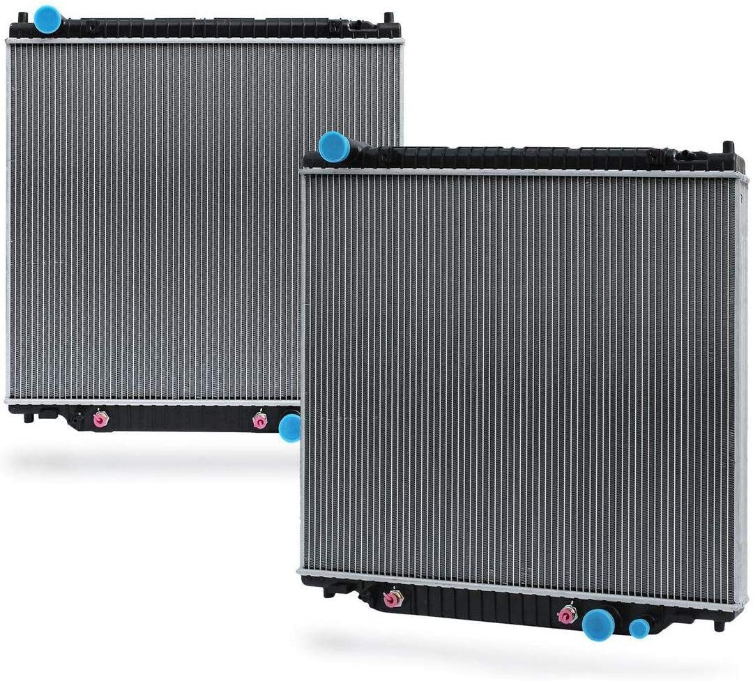 INLET PLASTIC TANKS FOR FORD SUPER DUTY EXCURSION RADIATORS