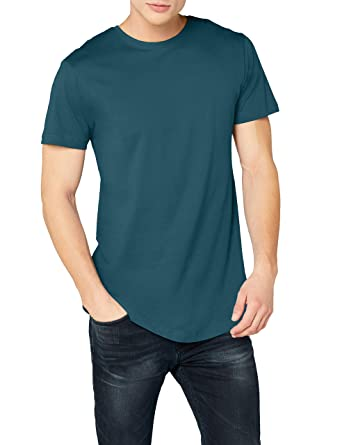 Urban Classics Herren T-Shirt Shaped Long Tee  Amazon.de  Bekleidung 9ee33b6c21