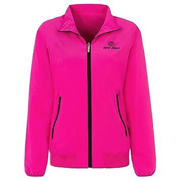 FA18 Red//pink BIDI BADU Damen Trainings Jacke Liza Tech Jacket