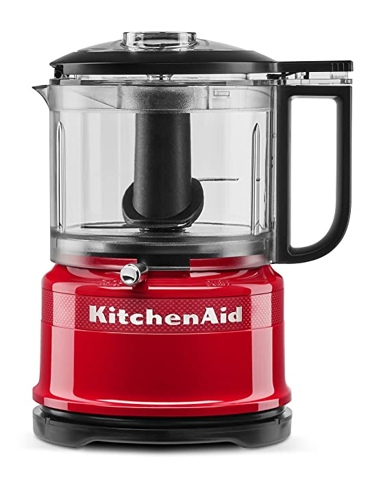 KitchenAid KFC3516QHSD 100 Year Limited Edition Queen of Hearts Food Chopper 3.5 Cup Passion Red