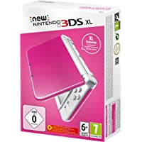 New Nintendo 3DS XL Pink White