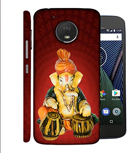 new concept 8345c 7c492 Printvisa Motorola Moto G5 Back Cover Lord Ganesh: Amazon.in ...