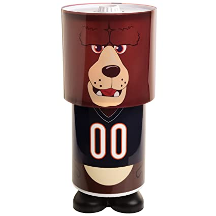 Amazon Com Chicago Bears Mascot Desk Lamp Sports Outdoors