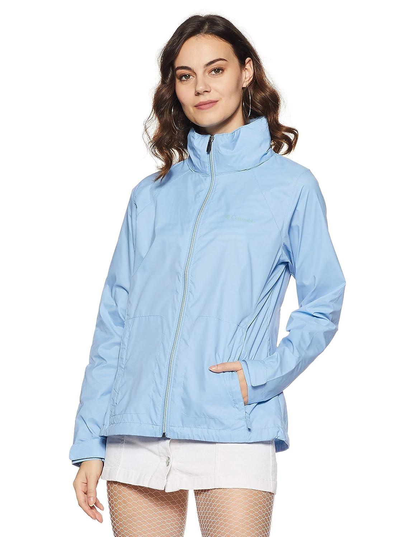 bluee Columbia Womens Standard Switchback Iii Adjustable Waterproof Rain Jacket