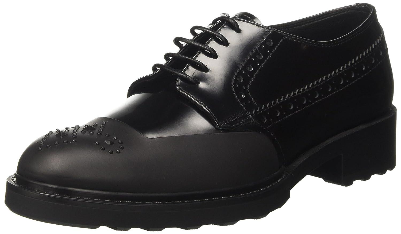 Barracuda Bd0840 - Zapatos Brogue Mujer 40 EU|Negro (Nero 900)