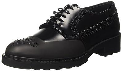 Schnürhalbschuhe Barracuda Damen Bd0840 Brogue Schuhe somase