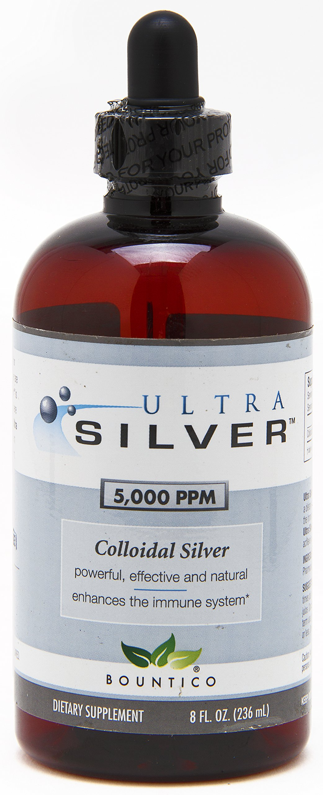 Ultra Silver Colloidal Silver 5,000 PPM - 8 Oz by Ultra Silver