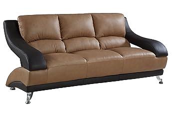 Amazon.com: Gu Industries 982-lv-s Wayne sofá de piel ...