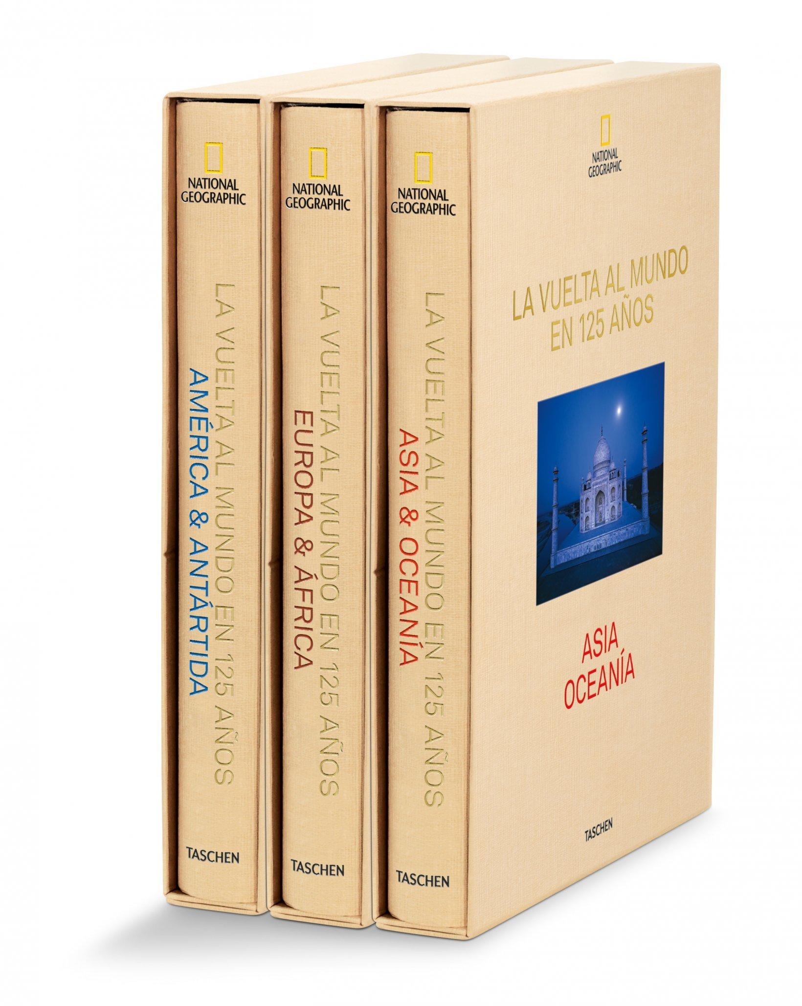 National Geographic. La Vuelta Al mundo En 125 Años, 3 vol.: Amazon ...