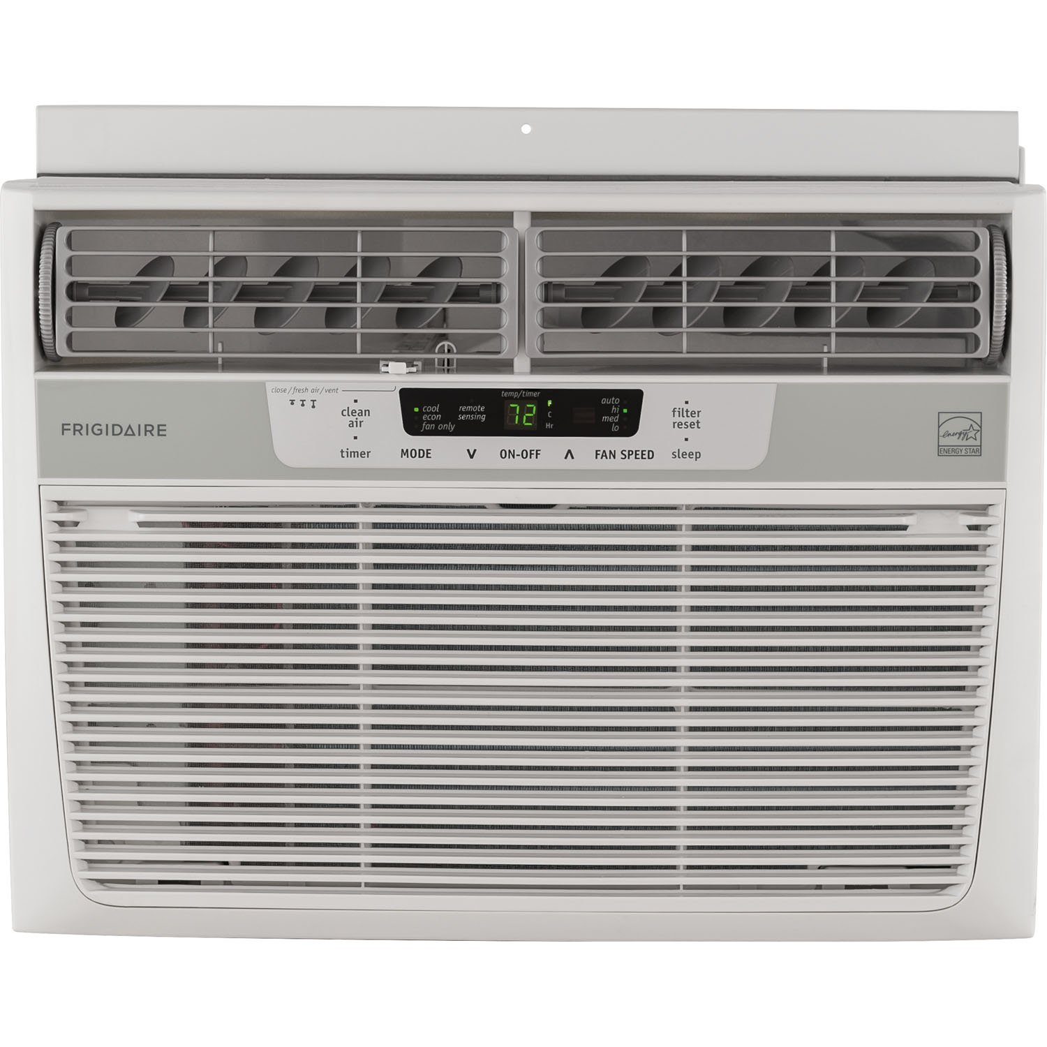 Frigidaire 10,000 BTU 115V Window-Mounted Compact Air Conditioner with Temperature Sensing Remote Control