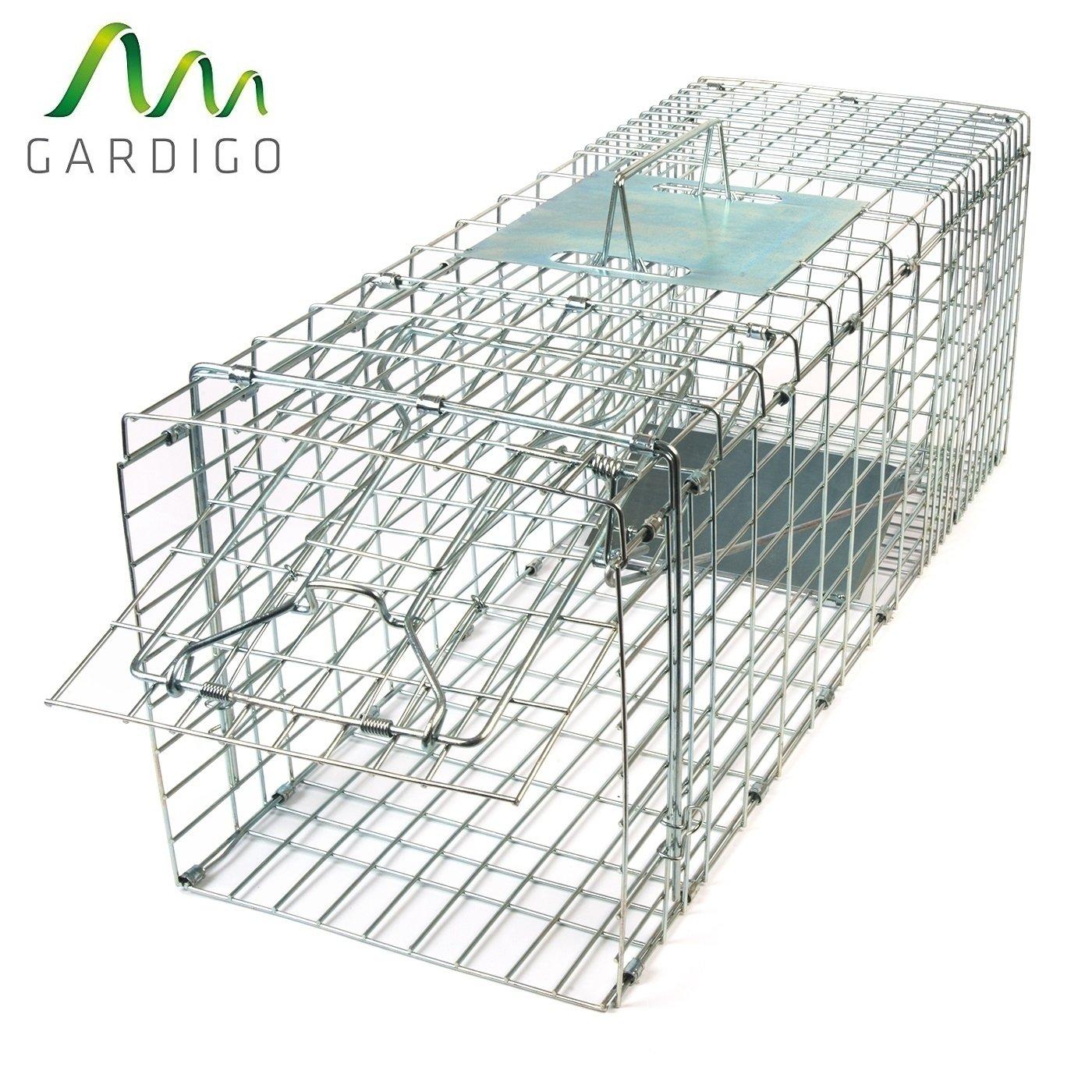Gardigo Piège pliant capture animaux vivants   fouines, renards, ratons  laveurs, lapins, 4099bfa0abb