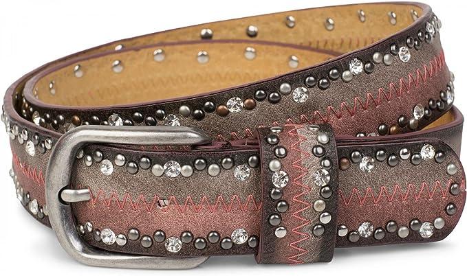 Cinturón de remaches vintage