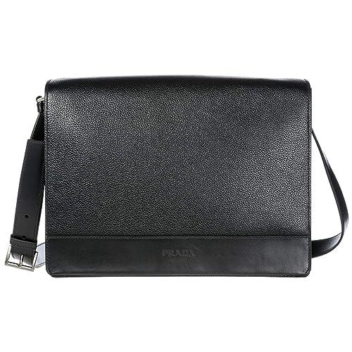 2131c71d7138 Prada men crossbody bag nero: Amazon.co.uk: Shoes & Bags