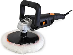 """WEN 948 10 Amp Variable Speed Polisher with Digital Readout, 7"""""""