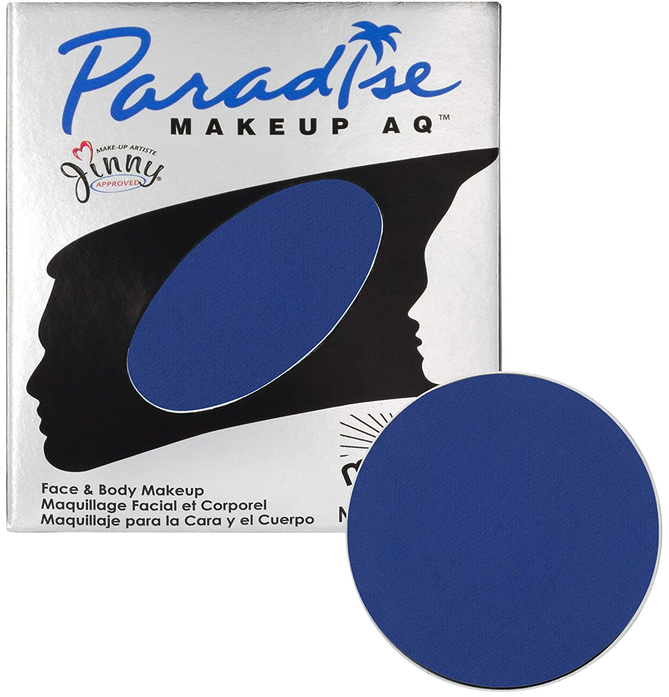 Mehron Makeup Paradise AQ Refill (.25 ounce) (Dark Blue)
