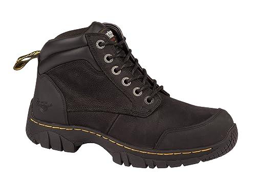 158032f110a Dr. Martens DM Docs Riverton SB Black Steel Toe Cap Leather Hiker Safety  Boots: Amazon.co.uk: Shoes & Bags