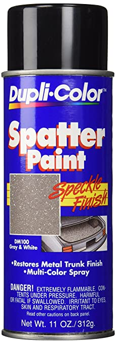 Amazon.com: Dupli-Color DM100 Gray and White Spatter Trunk Paint ...