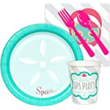 Little Spa Salon Makeover Party Supplies - Snack Party Pack