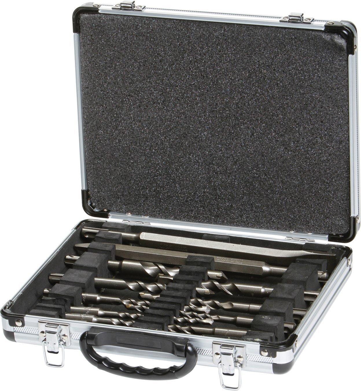 Makita 13 Piece Drill and Chisel Set SDS PLUS Aluminum Carry Case D-20111