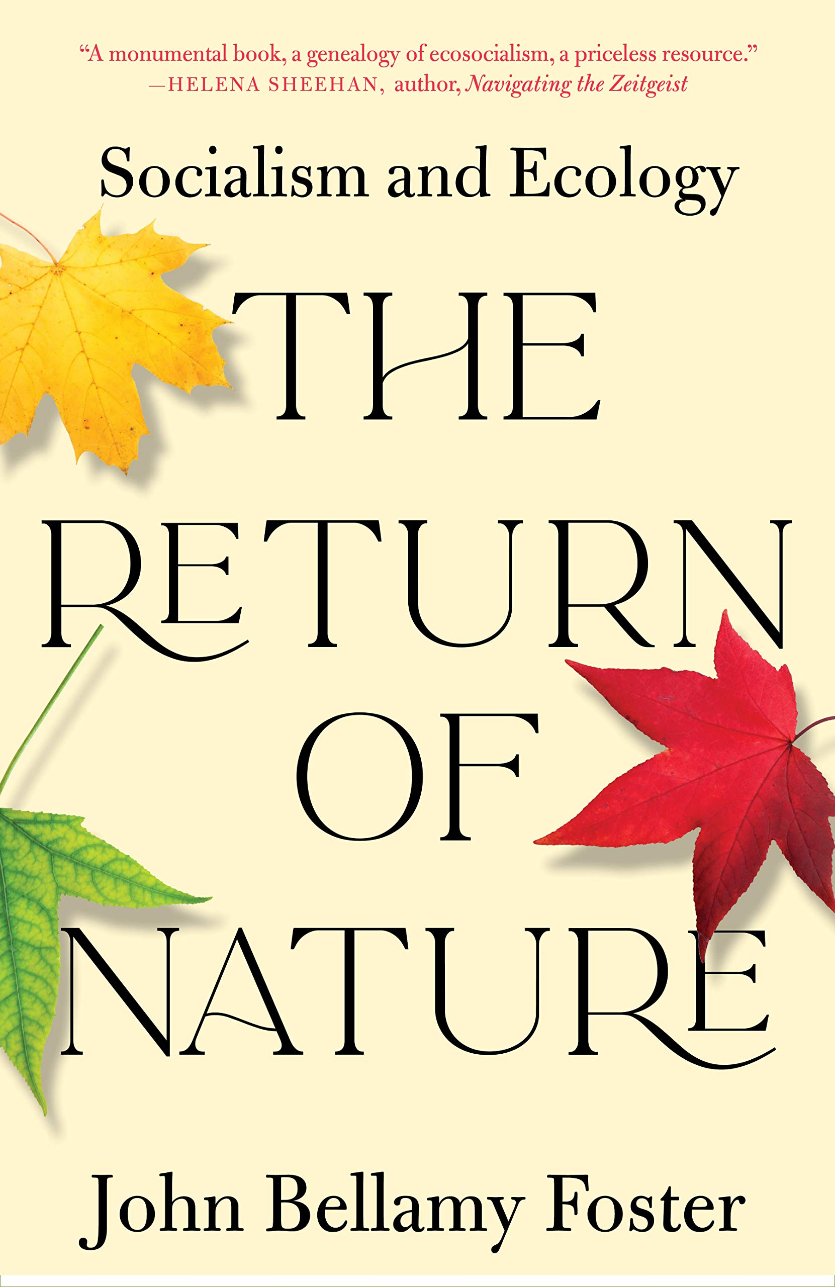 Image result for The Return of Nature: Socialism and Ecology