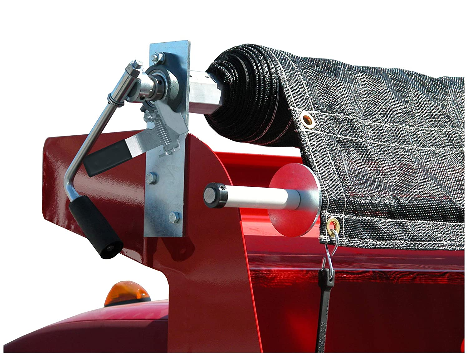 Aluminum System with Mesh Tarp Buyers Products DTR8022 8 ft x 22 ft