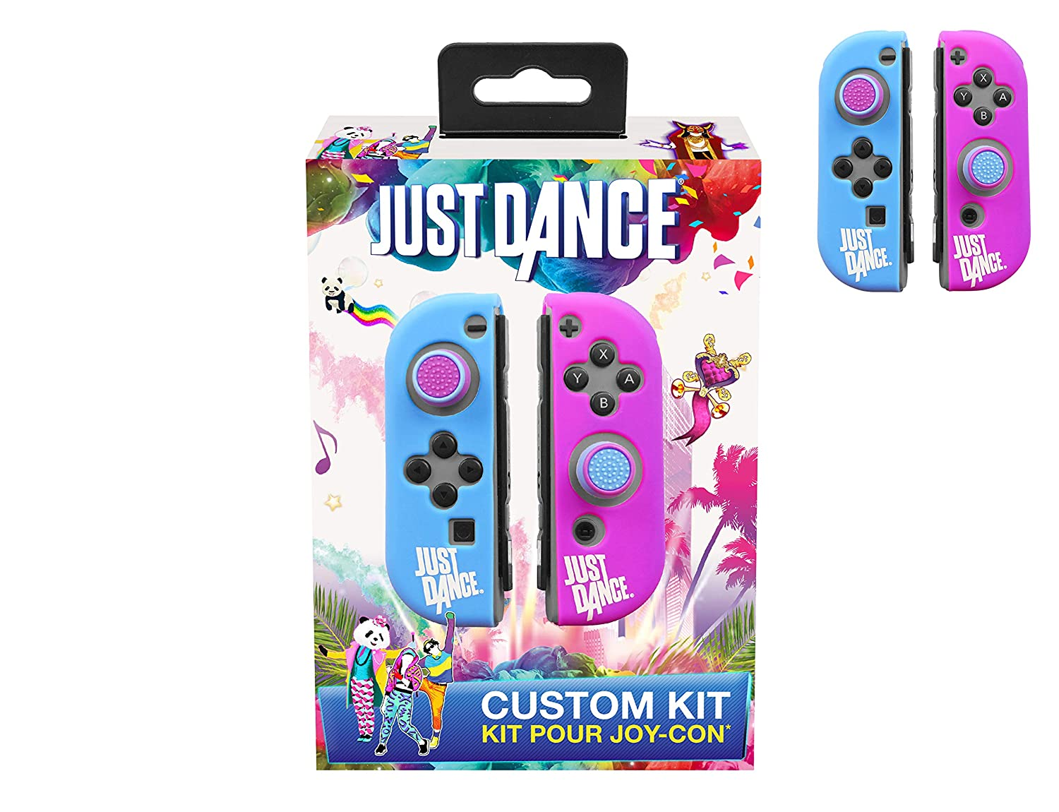 Just Dance 2019 - Custom Kit - Silicone protective cases for