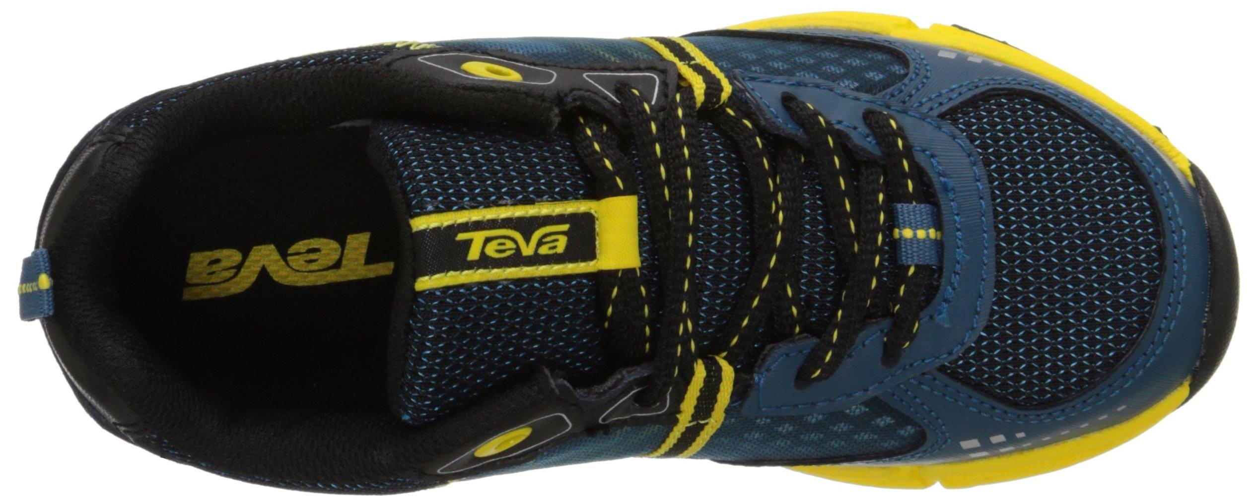 Teva Escapade Lo Athletic Trail Shoe (Little Kid/Big Kid), Blue/Yellow, 11 M US Little Kid by Teva (Image #8)