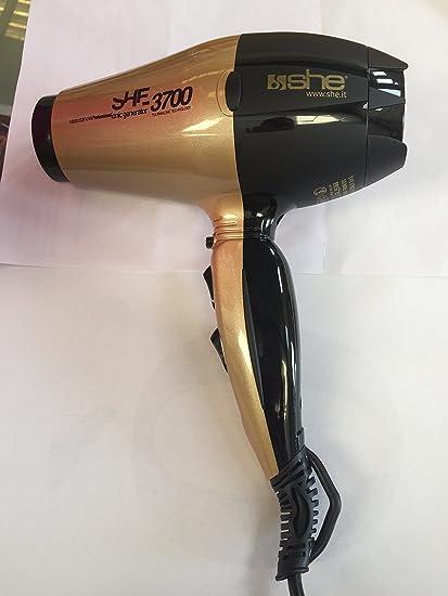 Secador She 3800 Oro/negro
