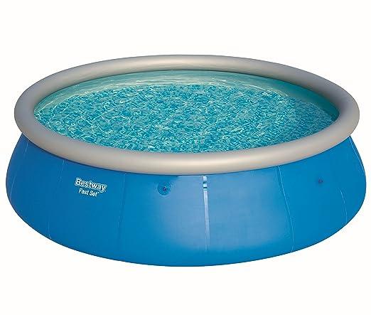 Bestway Fast Set Pool 457 x 122 cm, Hinchable Piscina Sobre ...