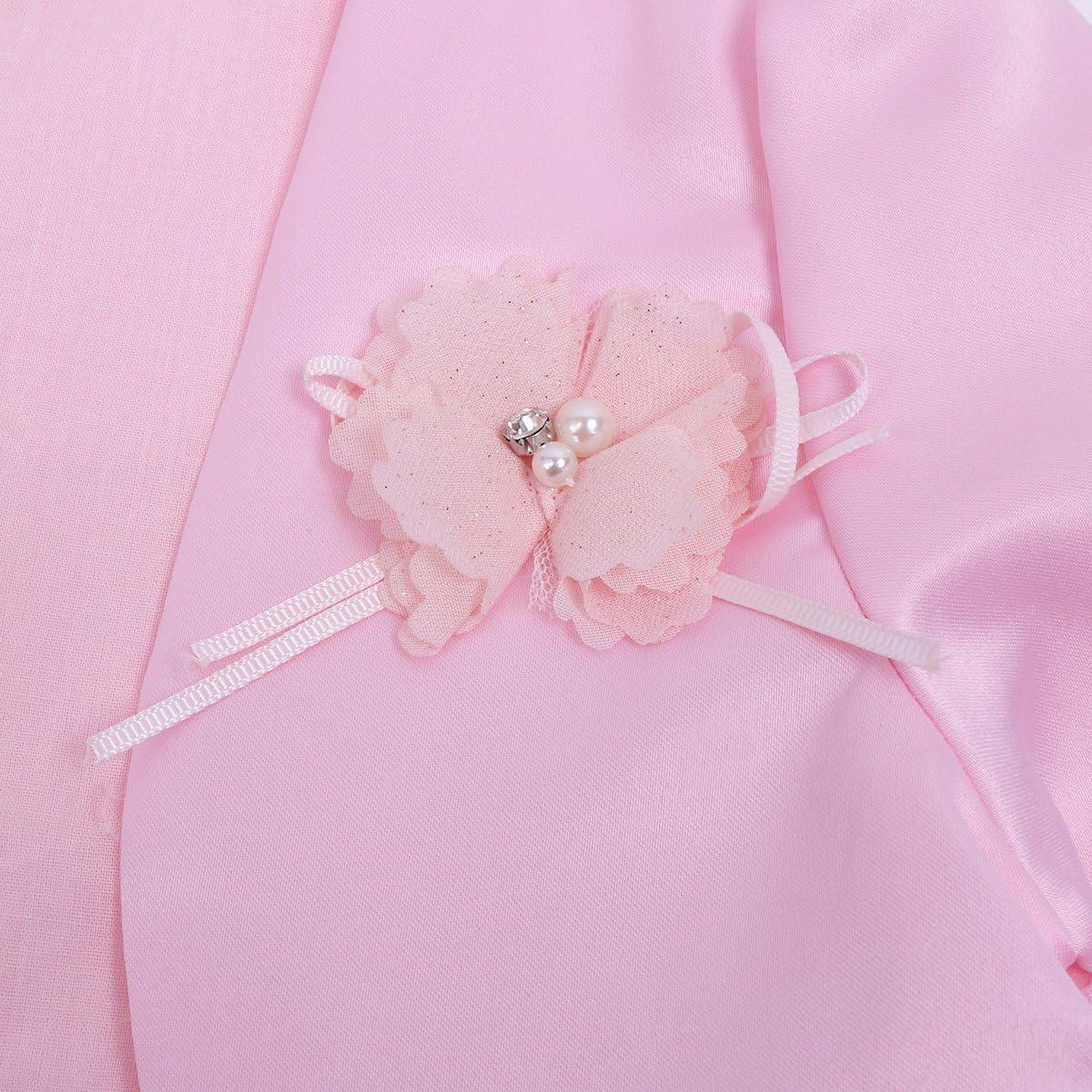 JanJean Kids Girls Long Sleeve Bolero Jacket Shrug Short Cardigan Dress Cover up Outerwear