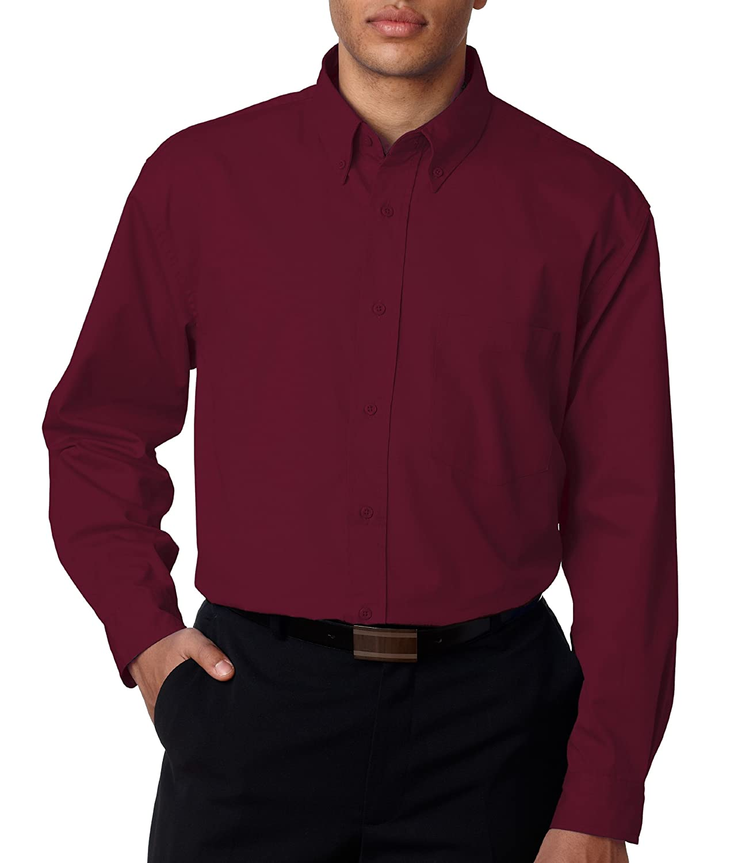 UltraClub Mens Whisper Twill Shirt