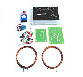 Insignia Labs Wireless Power Transfer/Transmission Diy Kit [Need Soldering]  - School College Electronic Project
