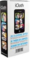 Electronic Cleaner for Removing Fingerprints and Grime Found on Screens of Tablets, Laptops, Smartphones and Other Handheld Devices | 30 Wipe Box