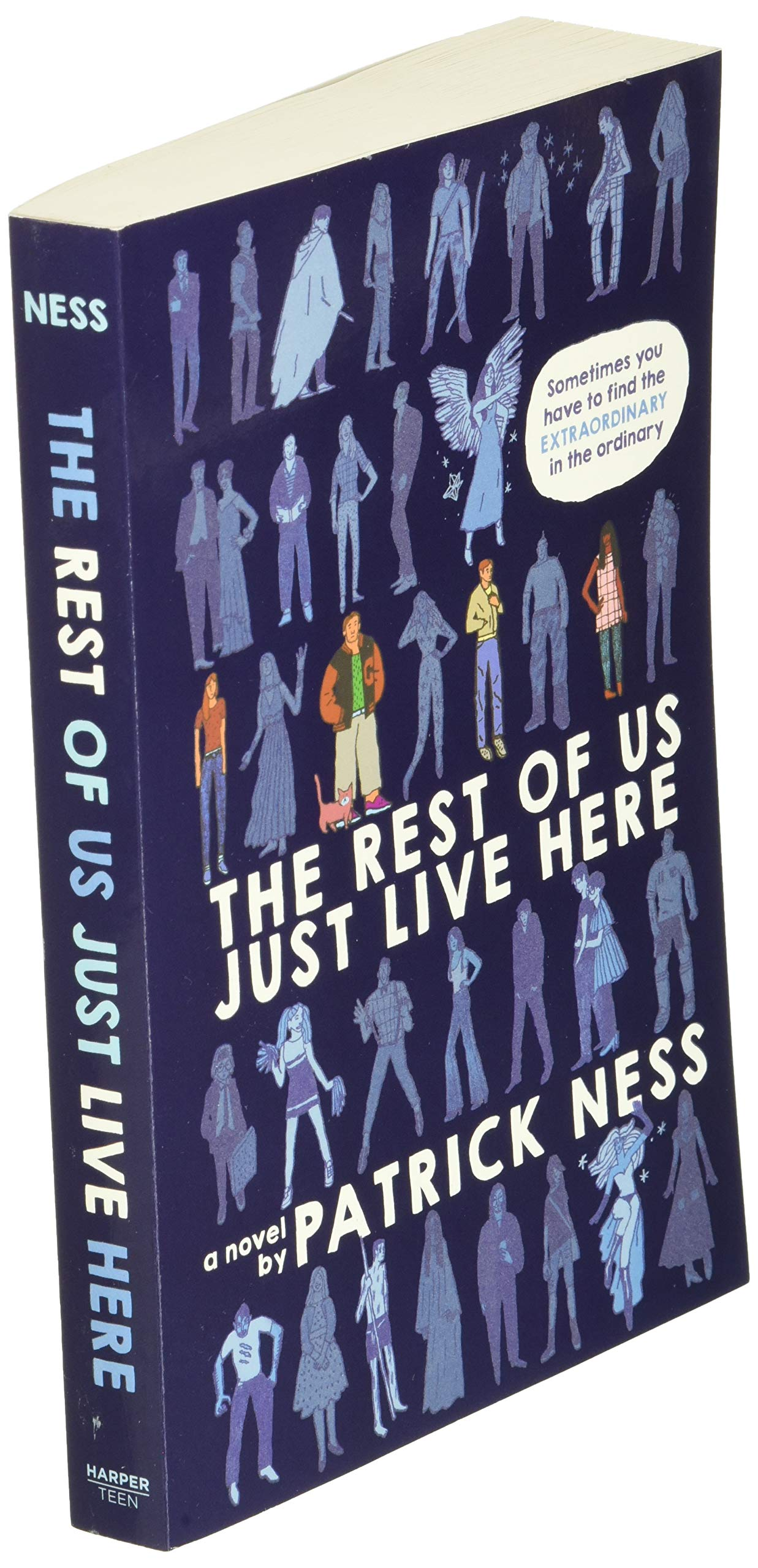 Download The Rest Of Us Just Live Here By Patrick Ness
