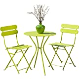 RST Brands OP-BS3-SOL-Grn OP-BS3-Sol 3 Piece Bistro Set, Green
