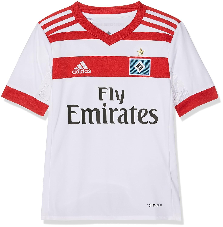 Adidas 1 Divisa Amburgo SV 2017-2018 H JSY Y, Maglietta Bambino B41429