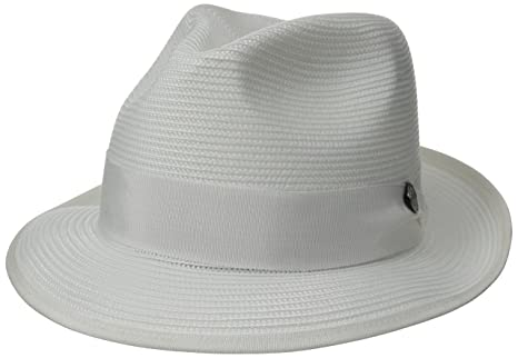 499f7901803 Stetson mens Latte Florentine Milan Straw Hat  Amazon.ca  Clothing    Accessories