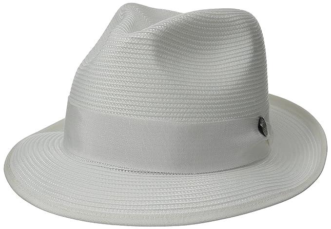 b37063dce94a3 Stetson Men s Latte Florentine Milan Straw Hat  Amazon.ca  Clothing ...