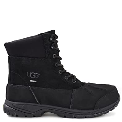 UGG Mens Metcalf Rain Boot Black Size 8