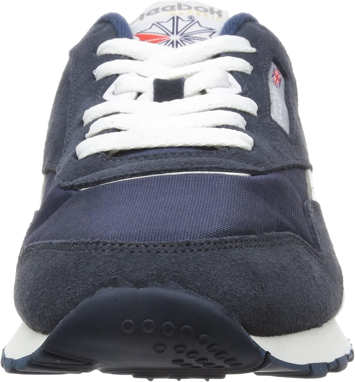 Reebok Cl Nylon 39749, Baskets Mixte Adulte Bleu Team Navy Gris Platinum