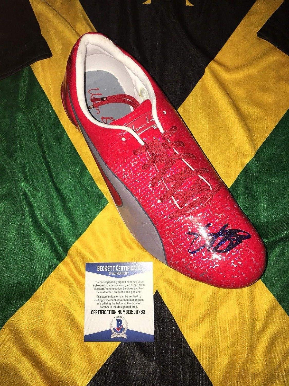 Usain Bolt Signed Official Puma Red