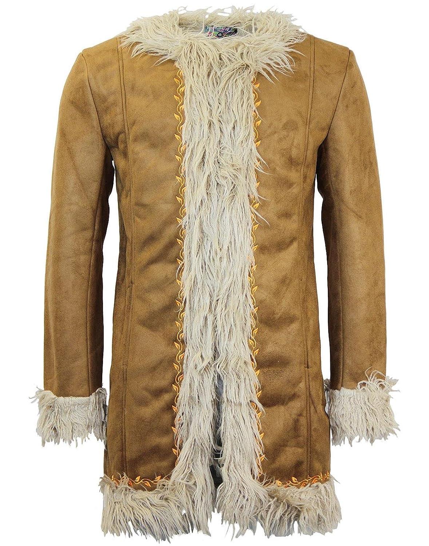 60s 70s Men's Retro Sweaters, Jackets, Coats Instant Karma MADCAP ENGLAND Retro 60s Afghan Coat £119.99 AT vintagedancer.com