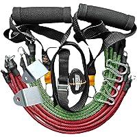Kit Extensor Elastico Treino Exercício Academia Em Casa 80kg