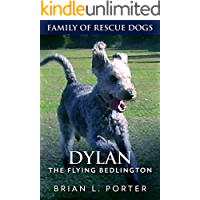 Dylan: The Flying Bedlington (Family Of Rescue Dogs Book 6) book cover