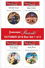 Harlequin Presents October 2018 - Box Set 1 of 2: Billionaire's Baby of Redemption\Consequence of the Greek's Revenge\Sheikh's Princess of Convenience\Kidnapped for Her Secret Son Kindle Edition