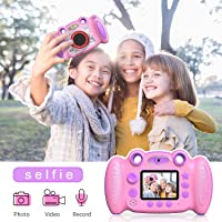 Camera Kids Camera Video Camera Gift for Age 4 5 6 7 8 Year Old Girls, Boys Shockproof Creative Camera